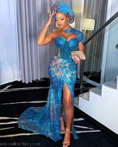 Nigerian Wedding Dresses Traditional, Nigerian Lace Styles, Aso Ebi Lace Styles, Lace Gown Styles, African Traditional Dresses, Ankara Styles, Traditional Wedding, African Lace Dresses, African Fashion Dresses