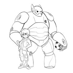Big Hero 6 Sketch By Art Of Scott On DeviantART