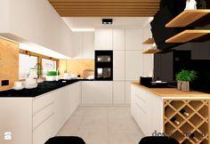 DOM W LESZNOWOLI - Kuchnia, styl nowoczesny - zdjęcie od design me too