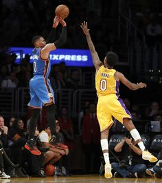 Thunder: Nick Young 3-pointer drops Thunder in comeback fourth quarter against Lakers - Article Photos Gallery