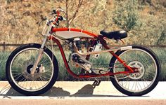 motorized bicycle 2 DMB Speedster by Wolf Creative Customs