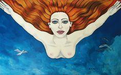 """""""CAIDA LIBRE"""" Maria Martha Diez Art"""