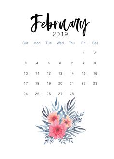 February 2019 printable calendar I started The Cactus Creative last December and one of the posts I wanted to publish was a printable calendar freebie. Calander Printable, Calendar 2019 Printable, 12 Month Calendar, Free Calendar, Print Calendar, 2019 Calendar, Monthly Calendars, Calendar Ideas, February Wallpaper
