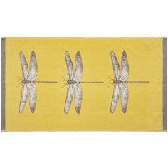 Harlequin Demoiselle Towel - Gold & Grey - Guest Towel ($16) ❤ liked on Polyvore featuring home, bed & bath, bath, bath towels, yellow, grey bath towels, gold bath towels, patterned bath towels, yellow bath towels and gray bath towels