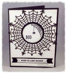 Stampin'Up! Happy Scenes Halloween Card