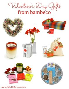 My favorite Valentine's Day Gifts from bambeco! | Hello Little Home