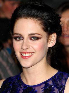 KRISTEN STEWART - She should smile more often .. She has a beautiful smile :)