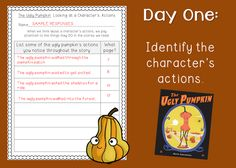 Third Grade Bookworm: The Ugly Pumpkin: A Fall Mentor Text