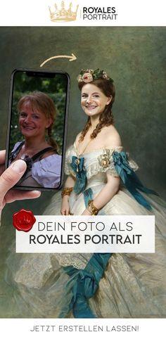 Dein Foto als Royales-Portrait😍 - Die perfekte #Geschenkidee #geschenke #personalisiert