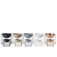 Kubus Bowl – modern Scandinavian design classic – by Lassen