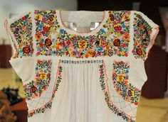 Mexican Peasant Blouse. Bet she didn't whip this one out in an afternoon.