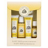 Burts Bees baby starter kit