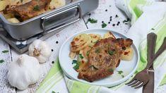 Mustáros tarja hagymával és burgonyával   Mindmegette.hu - YouTube Vegan Vegetarian, Vegetarian Recipes, Pork, Menu, Lunch, Chicken, Youtube, Drink, Kale Stir Fry