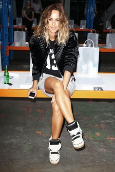 Athleisure designer Pip Edwards of 'P.E. Nation' is about to be your new High Fashion x Streetwear Style Icon. She's a total tomboy with killer personal style—known for mixing chic high fashion with sporty influences. @stylecaster