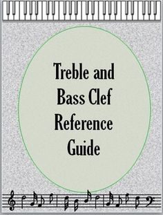 MUSIC: Treble and Bass Pitch: reference guide and worksheet. FREE DOWNLOAD
