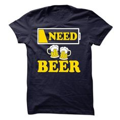 Awesome Tee Need Beer T-Shirts