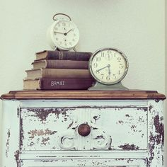 Farmhouse - Antique Books & Vintage Clocks at home on SweetCreek
