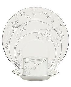 Noritake Dinnerware, Birchwood Collection - Fine China - Dining & Entertaining - Macy's
