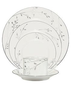 Noritake Dinnerware, Birchwood Collection - Fine China - Dining & Entertaining - Macy's