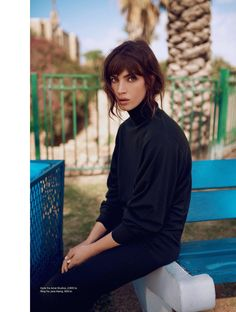 visual optimism; fashion editorials, shows, campaigns & more!: tel aviv: crista cober by jones bie for eurowoman november 2014