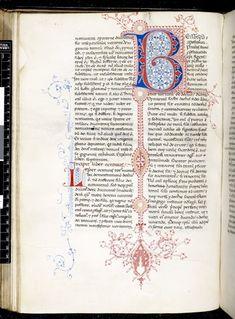 Harley 4949 f. 69v, British Library. Italy, 1st quarter 15th C.