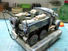 Panzerserra Bunker- Military Scale Models in scale: Agosto 2017 Military Modelling, Army Vehicles, Nightmare On Elm Street, Bunker, Us Army, World War Ii, Scale Models, Wwii, Tractors