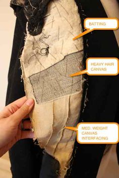 Gertie's New Blog for Better Sewing: 40s Jacket Deconstruction. Gertie picks apart a jacket to share all the lovely tailoring details hidden away inside...