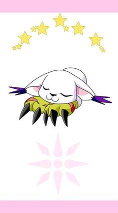 Tailmon. Luz. Digimon Adventure Tri.