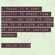 Alone time is the best time:)