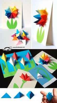 Paper flowers | крокотак | Bloglovin'