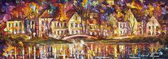 BRIDGE OVER TIME - PALETTE KNIFE Oil Painting On Canvas By Leonid Afremov http://afremov.com/BRIDGE-OVER-TIME-PALETTE-KNIFE-Oil-Painting-On-Canvas-By-Leonid-Afremov-Size-20-x24.html?bid=1&partner=20921&utm_medium=/vpin&utm_campaign=v-ADD-YOUR&utm_source=s-vpin