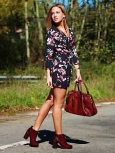 Mono de flores | Looks and shoes
