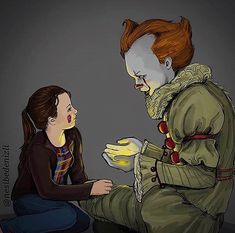 Pennywise Vicky by nesibedenizli on DeviantArt Penny Wise Clown, Horror Movie Characters, Horror Movies, Funny Horror, Bill Skarsgard Pennywise, It The Clown Movie, Fanart, Le Clown, Pennywise The Dancing Clown