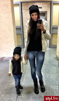 mommy and me outfits!