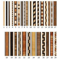 Veneer Inlay Strips, Pack of 2 - highland hardward