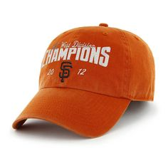 San Francisco Giants 2012 #NLWestChamps Cap