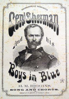 American Civil War sheet music.