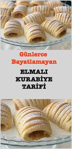 Stunning Apple Cookie Recipe for Days - Kurabiye Tarifleri - - Yemek Tarifleri - Resimli ve Videolu Yemek Tarifleri Cookie Recipes, Dessert Recipes, Desserts, Apple Cookies, Sweet Pastries, Biscuit Cookies, Cake Decorating Tips, Turkish Recipes, Perfect Food