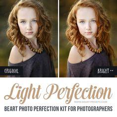 Portrait Lightroom presets for clean edits