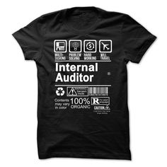 INTERNAL AUDITOR - 100% CERTIFIED T Shirt, Hoodie, Sweatshirts