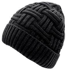 0098885b952 Buy Loritta Mens Winter Warm Knitting Hats Wool Baggy Slouchy Beanie Hat  Skull Cap online