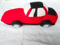 Brayden's car soft toy - side