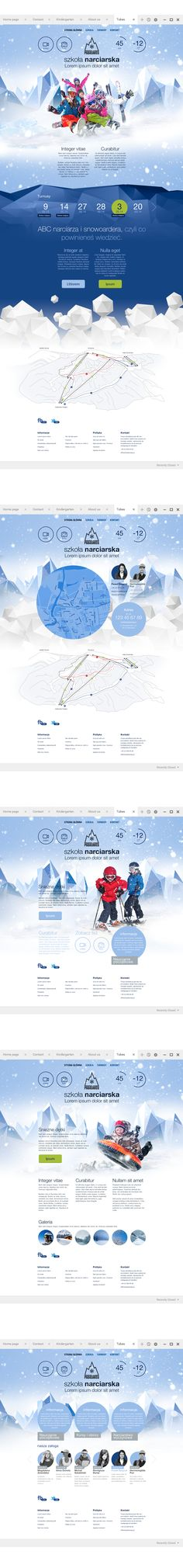 padasnieg by Michal Galubinski, via Behance
