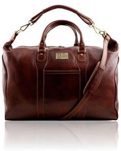 AMSTERDAM TL1049 Travel leather weekender bag - Borsa da viaggio in pelle http://www.tuscanyleather.it/en/p/leather-travel-bags/amsterdam-travel-leather-weekender-bag