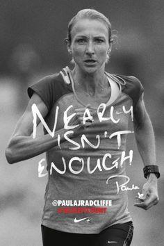 Paula Radcliffe, with the untouchable women's marathon WR