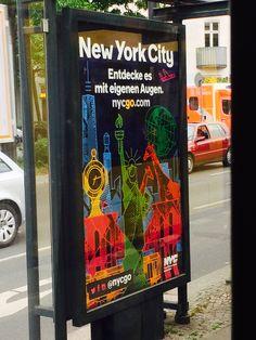 #NYCGO #Ad #Werbung #Berlin #Cologne #Köln #NYC #Travel #Tourismus #NewYorkCity #NewYork #Citylight #Deutschland #Germany
