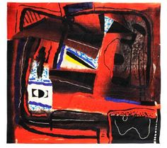 Reflexions in Red A by Federico Aguilar Alcuaz in The Asian Cultural Council Philippines Art Auction on February 2015 at the null null sale null, lot 78 Philippine Art, Art Auction, Art For Sale, Philippines, Abstract Art, Darth Vader, Culture, Red, Painting