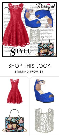 """Rosegal 24/I"" by eelmaa ❤ liked on Polyvore featuring vintage"