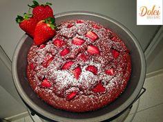 Torta Cioccolato e Fragole Senza Burro e uova, il dolce vegano e goloso di dolci senza burro