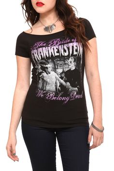 Bride Of Frankenstein Girls T-Shirt